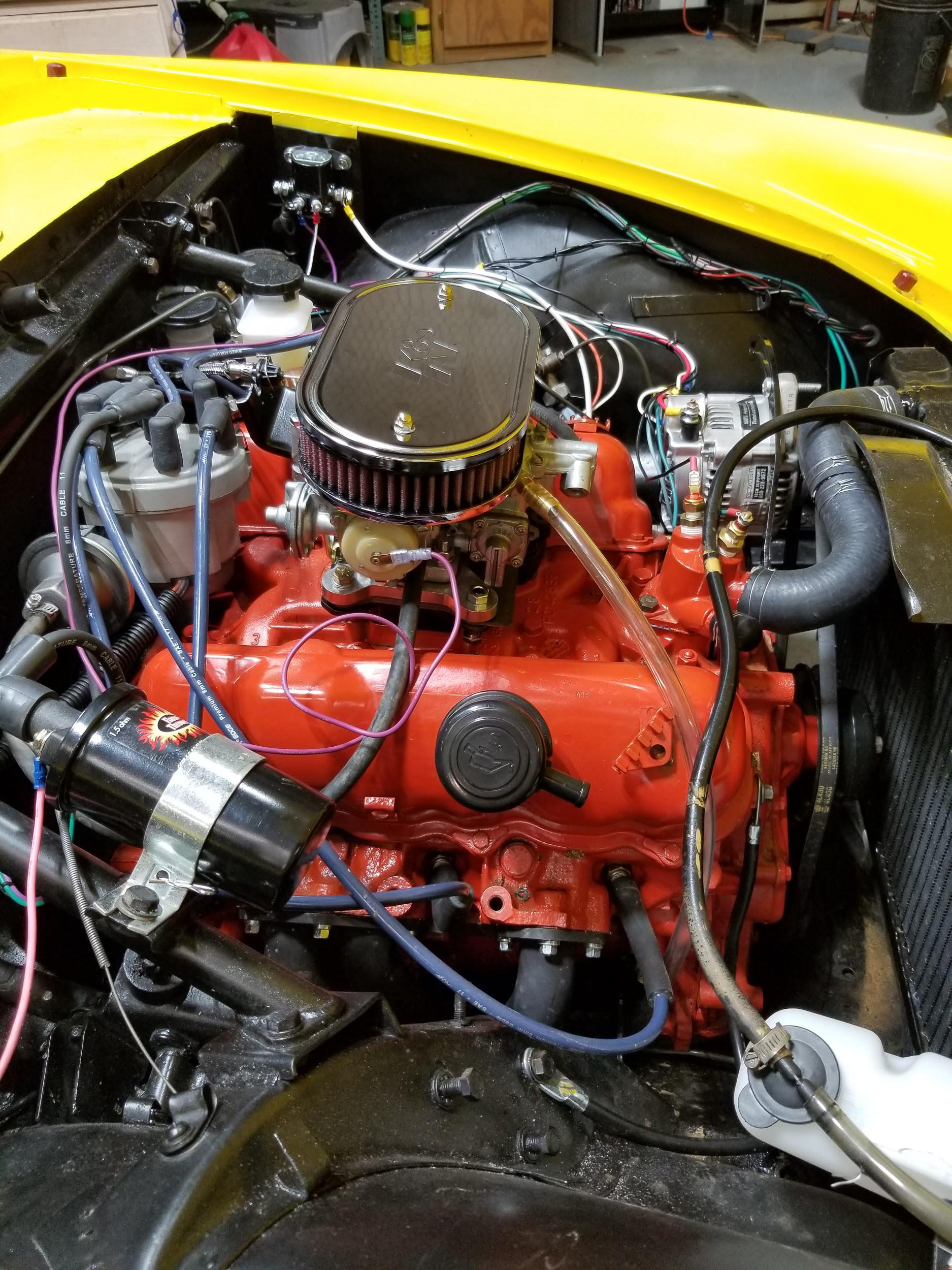 Documentation on Converting your Alpine with a 2 8 V6 FORD